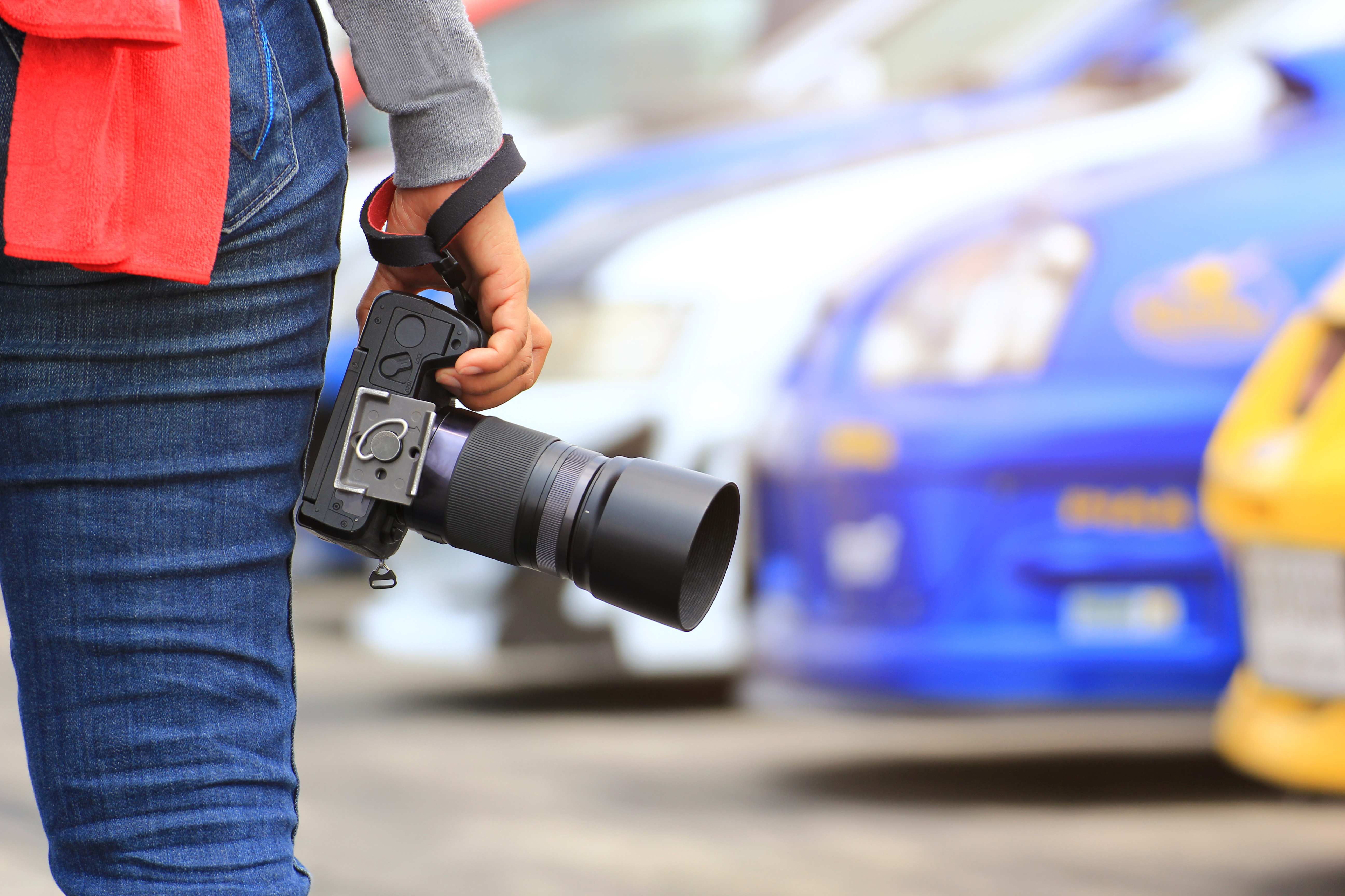 Vehicle photography with a purpose
